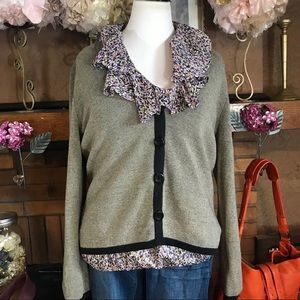 MERCER STREET CARDIGAN (XL); ATTENTION BLOUSE (XL)